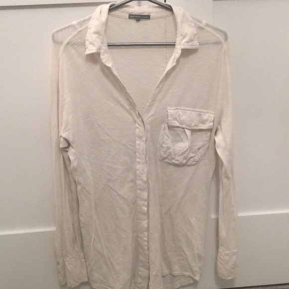 James Perse Tops - James Perse button down top *AS IS
